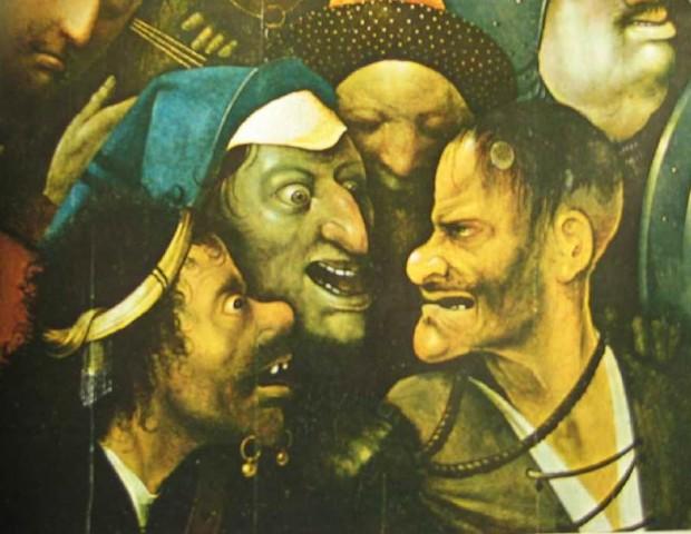 Jerome_Bosch 3 visages méchants
