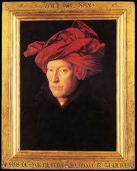L'homme au turban rouge Jan van Eyck,1433, National Gallery de Londres