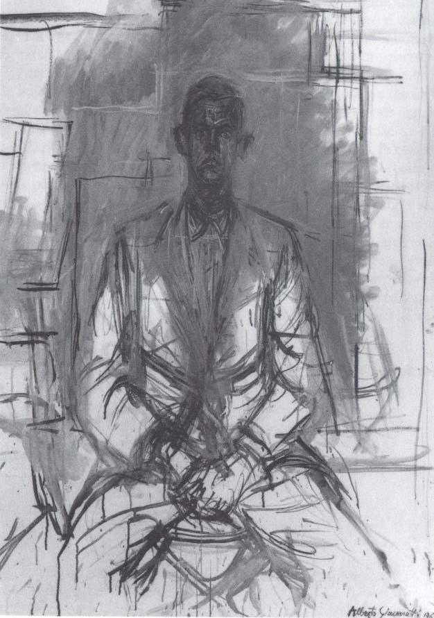 Un Portrait Par Giacometti Ou L Impossible Accomplissement Mes Attaches Invisibles Mes Attaches Invisibles