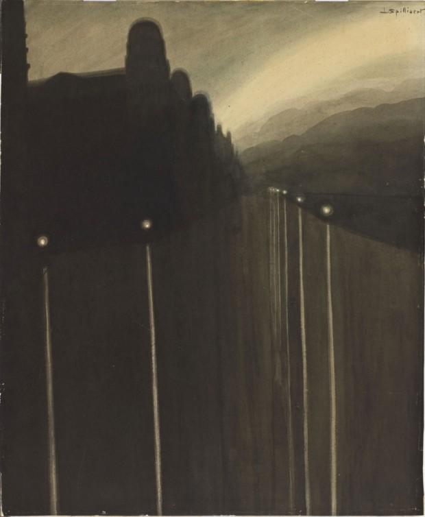 spilliaert-leon-digue-la-nuit-crayon-lavis-dencre-48x40-orsay