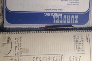 de l'écriture et des cahiers de recettes